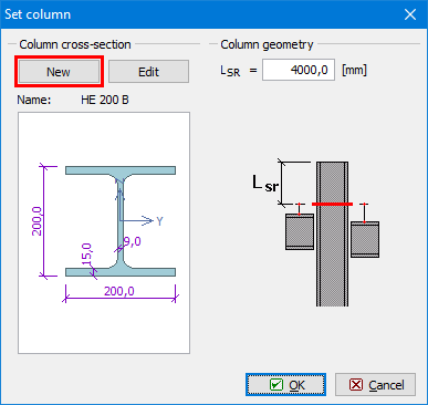 Beam to column connection with end plate | Engineering