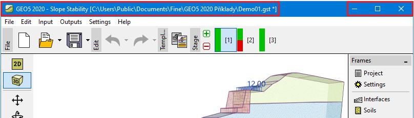 Application window user interface geo5 ayuda en l nea for Window location assign
