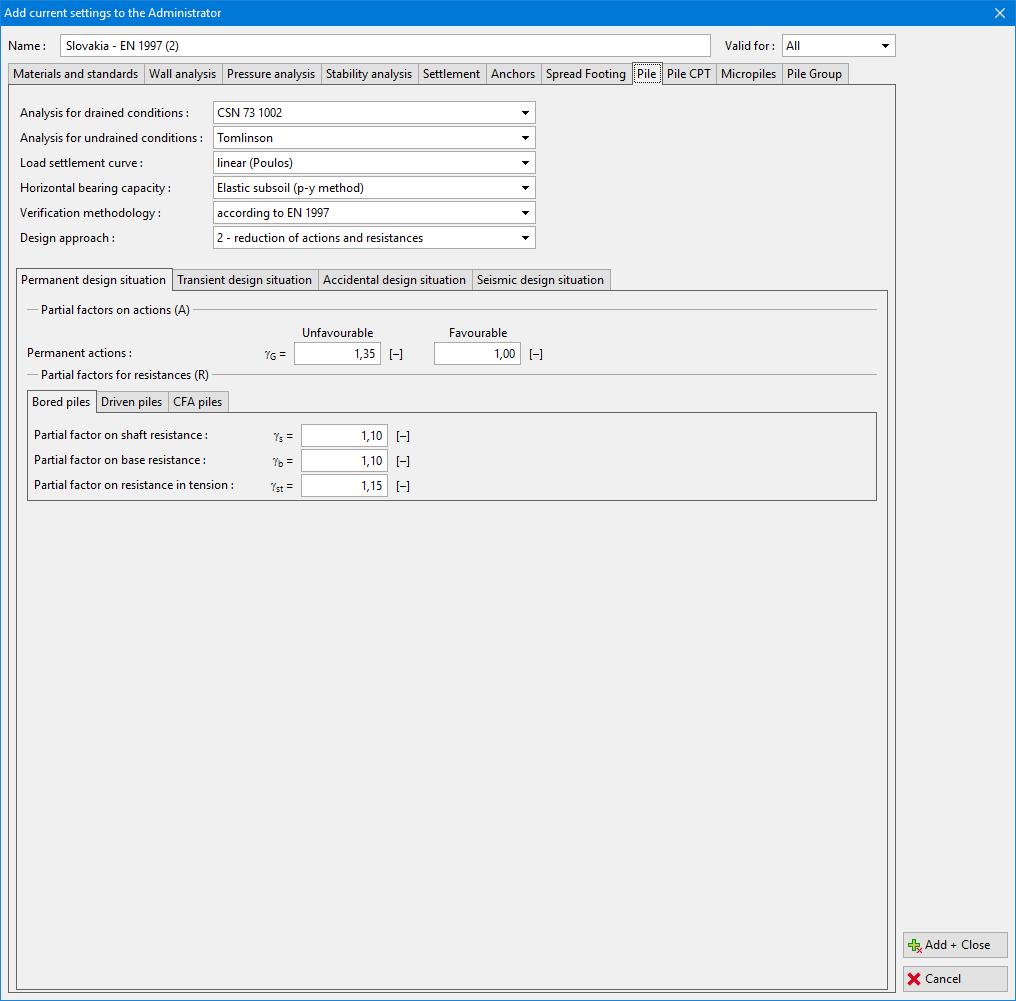 Geo  Sheet Pile Design Software