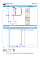 GEO5 Τοίχος με ακρόβαθρο - Παράδειγμα εκτυπώσεων του προγράμματος