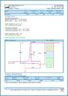 GEO5 Τοίχος Πρόβολος - Παράδειγμα εκτυπώσεων του προγράμματος Τοίχος πρόβολος