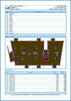 GEO5 Πλάκα - Παράδειγμα εκτυπώσεων του προγράμματος