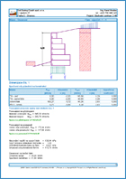 GEO5 Gabion - Output Report Sample