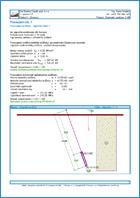 GEO5 Micropilote - Ejemplo de reporte de salida del programa Micropilote