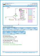 GEO5 Prefab Wall - Output Report Document