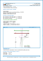 GEO5 Spread Footing - Output Report Sample