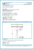 GEO5 Отдельные фундаменты - Пример отчета программы