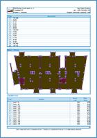GEO5 Плита - Пример отчета программы