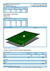 GEO5 Terreno - Exemplo de relatório de saída