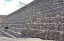 Kritická část výstavby gabionové stěny