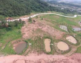 Construction site - slope