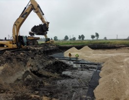 Removal of incoherent soil