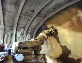 Výrub tunelu