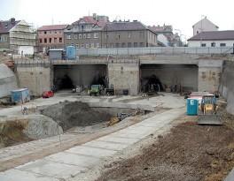 Portál tunelů
