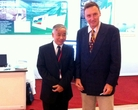 The chairman of VSSMGE (Vietnam) - Mr. Nguyen Truong Tien and Mr. Jiri Laurin (Fine) on the photo.